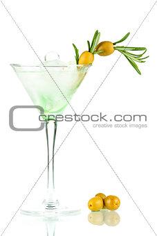 Martini alcohol cocktail