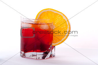 Americano and Negroni cocktail