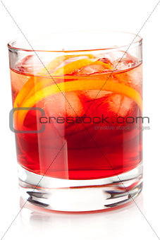 Alcohol cocktail collection - Negroni