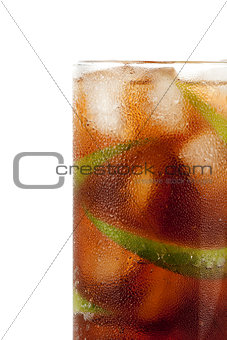Cuba libre alcohol cocktail