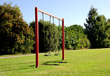 Two swings at the park
