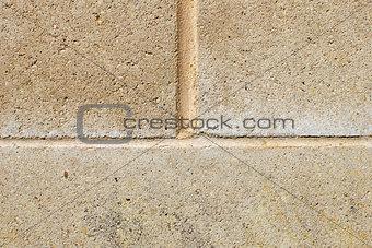 Block wall closeup
