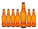 Seven bottles