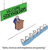 Welcome Stockholders