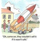 Safe rocket