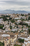 White houses of Granada