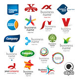 branded collection of logos