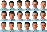 Expressions - Nine Year Old Boy