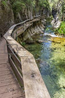 Cerrada de Elias gorge in Cazorla National Park