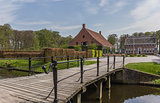Old dutch mansion Menkemaborg