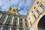 View from below to Catherine palace.