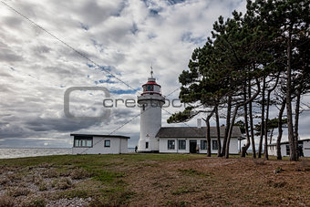 Sletterhage Lighthouse in Denmark