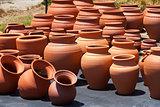 ceramic pots in market