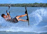 Kitesurfing in Brazil