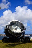 old military searchlight