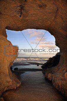 Praia das fontes