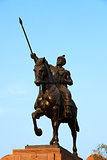 ganga singh statue in Bikaner