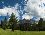 Dolomiti, Catinaccio panorama - Karersee