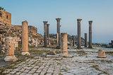 Umm Qais gadara romans ruins jordan