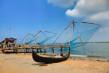 chinese fishing net of cochin