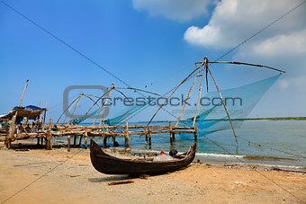 chinese fishing net of cochin