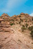 desert scenic near petra jordan