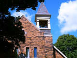Church Steeple with Bell