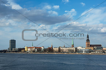 Riga - view from the river