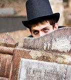 Tomb Stone Peek A Boo