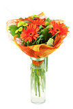 Orange gerbera bouquiet