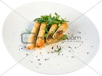 Cigar shaped rolls