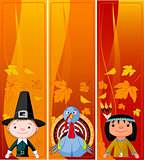 Vertical Thanksgiving Banners