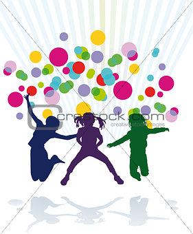 young children to celebrate an event