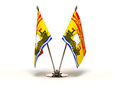Miniature Flag of New Brunswick