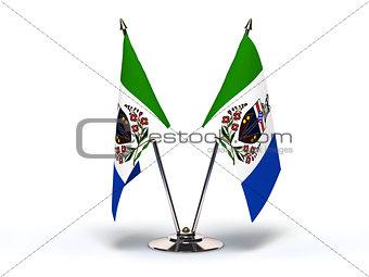 Miniature Flag of Yukon