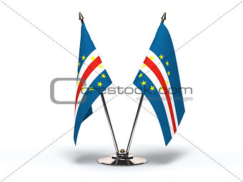 Miniature Flag of Cape Verde