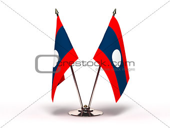 Miniature Flag of Laos