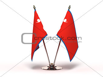 Miniature Flag of Nepal