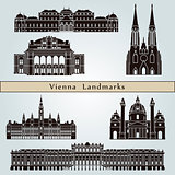 Vienna landmarks and monuments