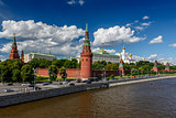 Moscow Kremlin and Moscow River Embankment, Russia