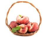 Paraguayos flat peaches
