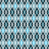 Blue and gray seamless pattern