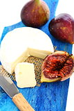 Figs and cream cheese.