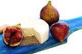 Figs and camembert.