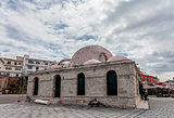 The Janissaries Mosque in Chania's old town, Crete