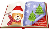 Teddy Bear Christmas Book