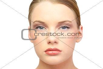 Portrait of gorgeous blonde posing