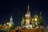 Moscow Kremlin and St. Basil's Cathedral