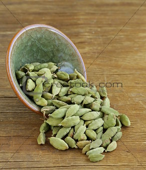 Image Green Cardamom Pods Spice Aromatic Seasoning For Food