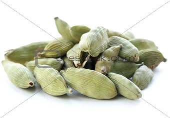 green cardamom pods spice - aromatic seasoning for food